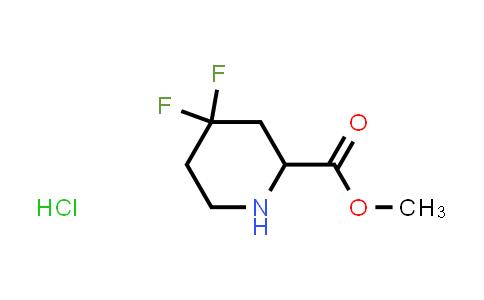 MC458690 | 1301713-83-6 | methyl 4,4-difluoropiperidine-2-carboxylate hydrochloride