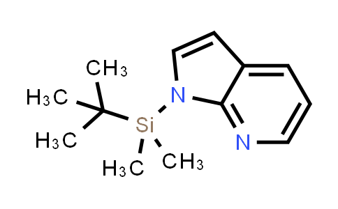 DY458697 | 183001-71-0 | 1H-PYRROLO[2,3-B]PYRIDINE, 1-[(1,1-DIMETHYLETHYL)DIMETHYLSILYL]-