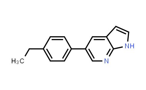 611205-41-5 | 1H-PYRROLO[2,3-B]PYRIDINE, 5-(4-ETHYLPHENYL)-