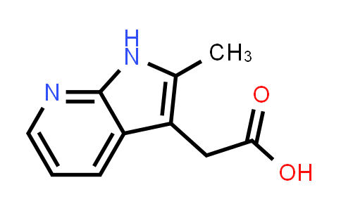 7546-50-1 | 1H-PYRROLO[2,3-B]PYRIDINE-3-ACETIC ACID, 2-METHYL-