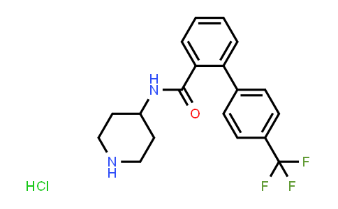 MC458710 | 1838769-21-3 | N-(piperidin-4-yl)-4′-(trifluoromethyl)biphenyl-2-carboxamide hydrochloride