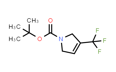 693826-97-0 | tert-butyl 3-(trifluoromethyl)-2,5-dihydro-1H-pyrrole-1-carboxylate