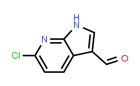 383875-59-0 | 1H-PYRROLO[2,3-B]PYRIDINE-3-CARBOXALDEHYDE, 6-CHLORO-