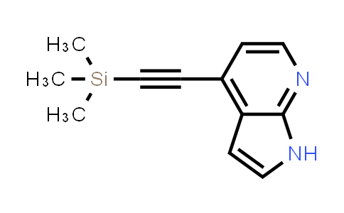 DY458720 | 1015609-91-2 | 4-((TRIMETHYLSILYL)ETHYNYL)-1H-PYRROLO[2,3-B]PYRIDINE