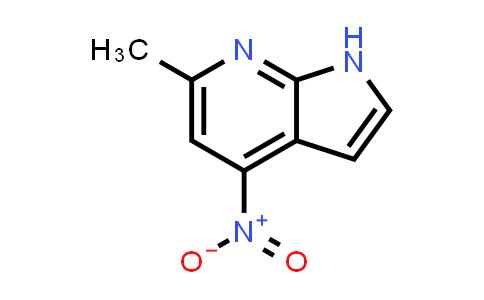 DY458723 | 178268-98-9 | 1H-PYRROLO[2,3-B]PYRIDINE, 6-METHYL-4-NITRO-