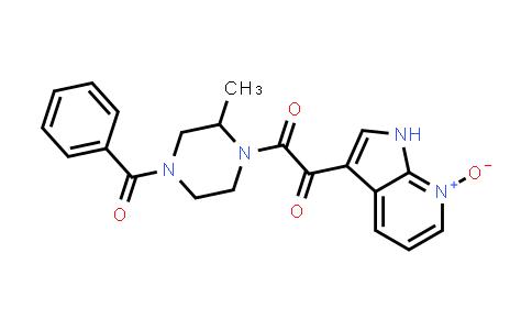 357262-90-9 | 4-BENZOYL-2-METHYL-1-[(7-OXIDO-1H-PYRROLO[2,3-B] PYRIDIN-3-YL)OXOACETYL]-PIPERAZINE