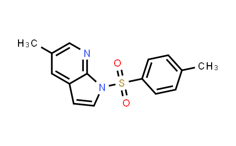 DY458726   1036028-15-5   1H-PYRROLO[2,3-B]PYRIDINE, 5-METHYL-1-[(4-METHYLPHENYL)SULFONYL]-
