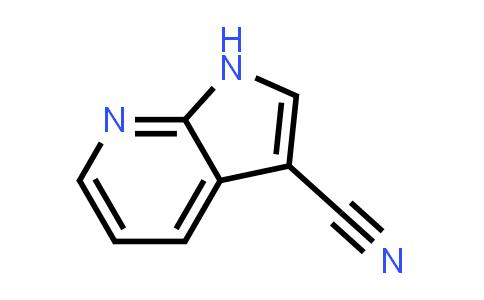 4414-89-5 | 1H-PYRROLO[2,3-B]PYRIDINE-3-CARBONITRILE