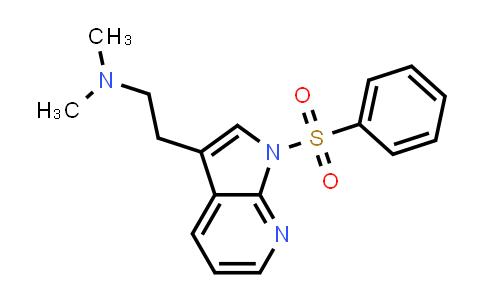 MC458733 | 554452-54-9 | 1H-PYRROLO[2,3-B]PYRIDINE-3-ETHANAMINE, N,N-DIMETHYL-1-(PHENYLSULFONYL)-