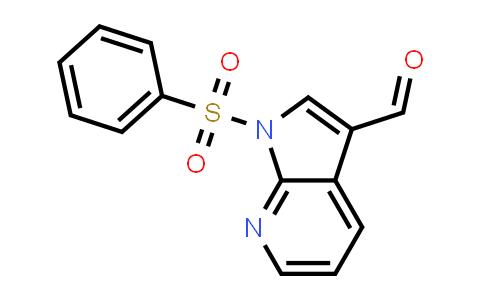 DY458738 | 155819-08-2 | 1H-PYRROLO[2,3-B]PYRIDINE-3-CARBOXALDEHYDE, 1-(PHENYLSULFONYL)-
