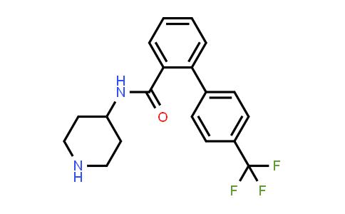 182439-41-4   N-(piperidin-4-yl)-4′-(trifluoromethyl)biphenyl-2-carboxamide