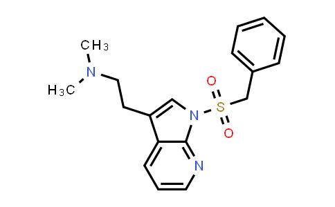 DY458749 | 554452-55-0 | 1H-PYRROLO[2,3-B]PYRIDINE-3-ETHANAMINE, N,N-DIMETHYL-1-[(PHENYLMETHYL)SULFONYL]-
