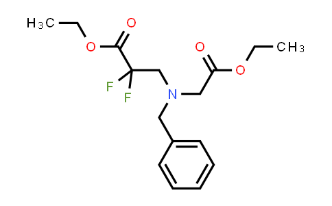 MC458754 | 1823791-33-8 | ethyl 3-(benzyl(2-ethoxy-2-oxoethyl)amino)-2,2-difluoropropanoate