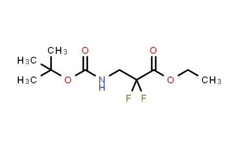 MC458759 | 847986-13-4 | ethyl 3-((tert-butoxycarbonyl)amino)-2,2-difluoropropanoate