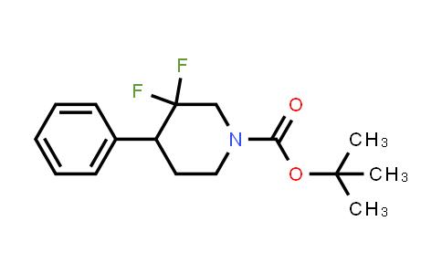 1334418-85-7   tert-butyl 3,3-difluoro-4-phenylpiperidine-1-carboxylate