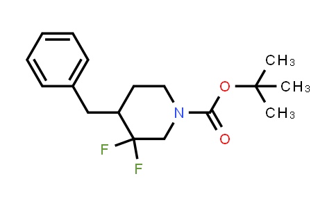 MC458785 | 1334414-67-3 | tert-butyl 4-benzyl-3,3-difluoropiperidine-1-carboxylate