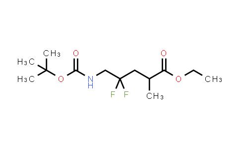 MC458787 | 1404196-49-1 | ethyl 5-(tert-butoxycarbonylamino)-4,4-difluoro-2-methylpentanoate