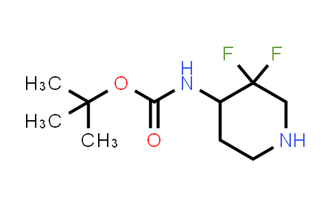 MC458791 | 1263180-22-8 | tert-butyl 3,3-difluoropiperidin-4-ylcarbamate