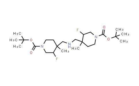 1404196-62-8 | di-tert-butyl 4,4′-azanediylbis(methylene)bis(3-fluoro-4-methylpiperidine-1-carboxylate)