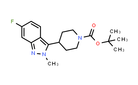 MC458799 | 1356338-42-5 | tert-butyl 4-(6-fluoro-2-methyl-2H-indazol-3-yl)piperidine-1-carboxylate
