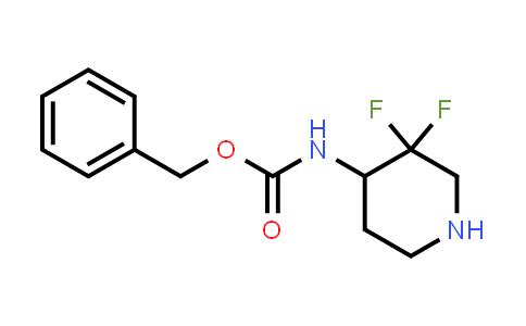 MC458805 | 1334412-86-0 | benzyl 3,3-difluoropiperidin-4-ylcarbamate