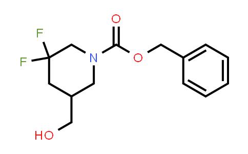 MC458818 | 1356339-31-5 | benzyl 3,3-difluoro-5-(hydroxymethyl)piperidine-1-carboxylate