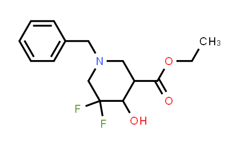 MC458820 | 1356339-08-6 | ethyl 1-benzyl-5,5-difluoro-4-hydroxypiperidine-3-carboxylate