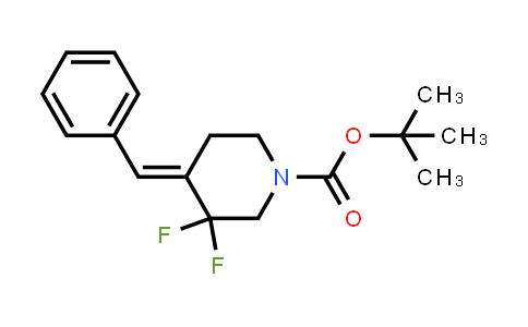 MC458825 | 2101208-41-5 | tert-butyl 4-benzylidene-3,3-difluoropiperidine-1-carboxylate