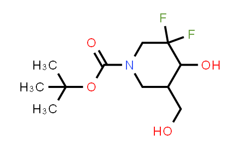 1881275-72-4 | tert-butyl Trans-3,3-difluoro-4-hydroxy-5-(hydroxymethyl)piperidine-1-carboxylate racemate