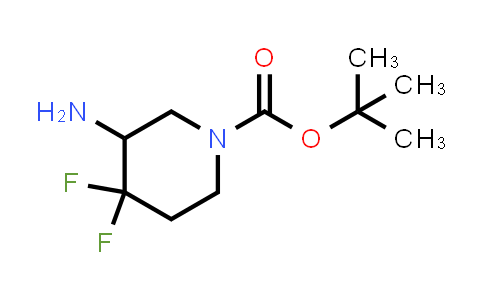 1283718-72-8 | tert-butyl 3-amino-4,4-difluoropiperidine-1-carboxylate