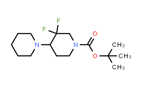 2101206-97-5 | tert-butyl 3′,3′-difluoro-1,4′-bipiperidine-1′-carboxylate