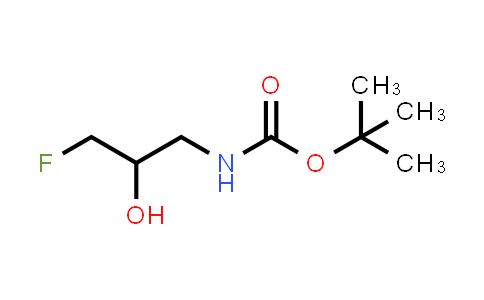 1781491-41-5 | tert-butyl (3-fluoro-2-hydroxypropyl)carbamate
