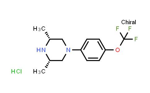 934760-93-7 | Cis-3,5-dimethyl-1-(4-(trifluoromethoxy)phenyl)piperazine hydrochloride
