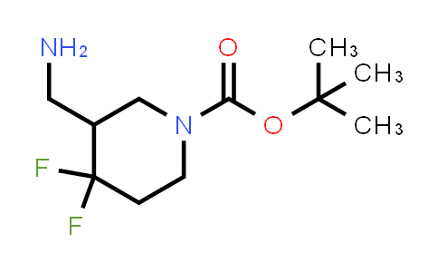 MC458851 | 1303973-27-4 | tert-butyl 3-(aminomethyl)-4,4-difluoropiperidine-1-carboxylate