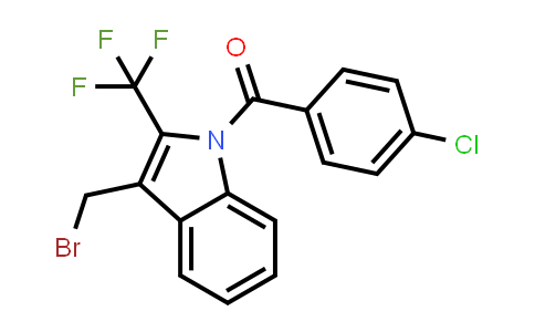 MC458860 | 929075-62-7 | (3-(Bromomethyl)-2-(trifluoromethyl)-1H-indol-1-yl)(4-chlorophenyl)methanone