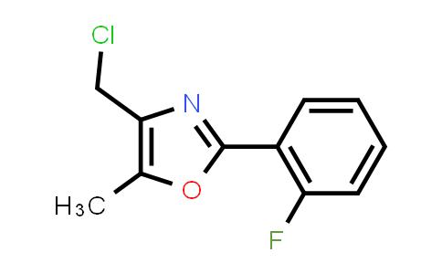MC458867 | 671215-76-2 | 4-CHLOROMETHYL-2-(2-FLUORO-PHENYL)-5-METHYL-OXAZOLE