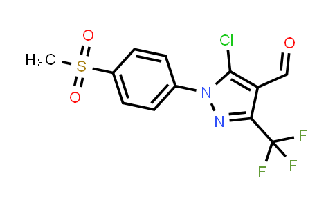 MC458869 | 927913-36-8 | 5-CHLORO-1-(4-METHANESULFONYL-PHENYL)-3-TRIFLUOROMETHYL-1H-PYRAZOLE-4-CARBALDEHYDE