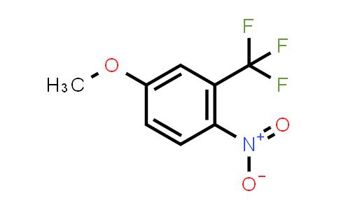 344-39-8 | 4-methoxy-1-nitro-2-(trifluoromethyl)benzene