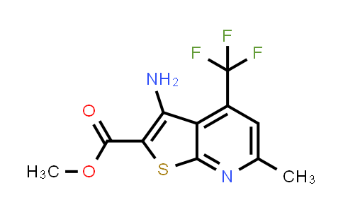 313379-68-9 | 3-Amino-6-methyl-4-trifluoromethyl-thieno[2,3-b]pyridine-2-carboxylic acid methyl ester