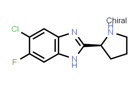 MC458908 | 944030-68-6 | (S)-5-CHLORO-6-FLUORO-2-PYRROLIDIN-2-YL-1H-BENZOIMIDAZOLE