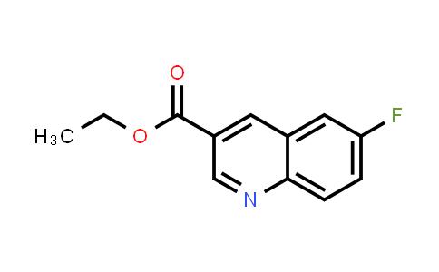 71083-14-2 | 6-FLUORO-QUINOLINE-3-CARBOXYLIC ACID ETHYL ESTER