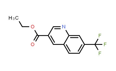 71083-18-6 | 7-TRIFLUOROMETHYL-QUINOLINE-3-CARBOXYLIC ACID ETHYL ESTER