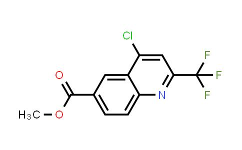 958332-63-3 | METHYL 4-CHLORO-2-(TRIFLUOROMETHYL)QUINOLINE-6-CARBOXYLATE