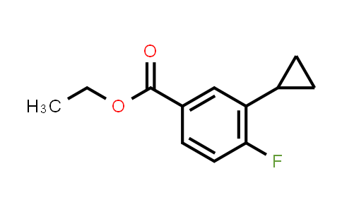MC458924 | 1063733-84-5 | ETHYL 3-CYCLOPROPYL-4-FLUOROBENZOATE