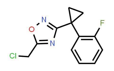 1064701-99-0 | 5-CHLOROMETHYL-3-[1-(2-FLUORO-PHENYL)-CYCLOPROPYL]-[1,2,4]OXADIAZOLE