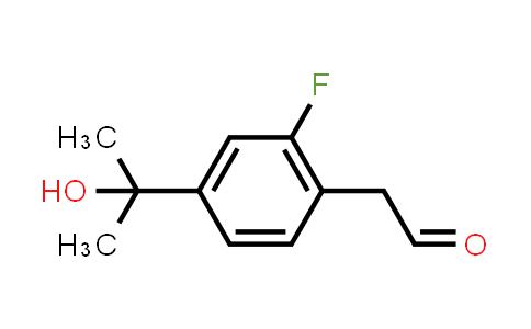 MC458937 | 1093878-11-5 | [2-FLUORO-4-(1-HYDROXY-1-METHYL-ETHYL)-PHENYL]-ACETALDEHYDE