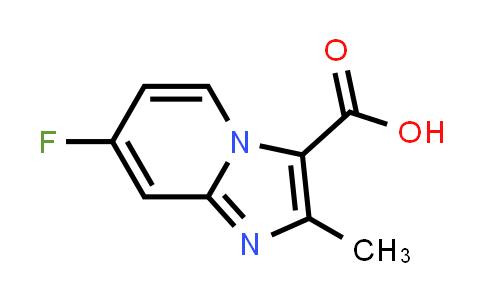 MC458939 | 1159831-72-7 | 7-FLUORO-2-METHYL-IMIDAZO[1,2-A]PYRIDINE-3-CARBOXYLIC ACID