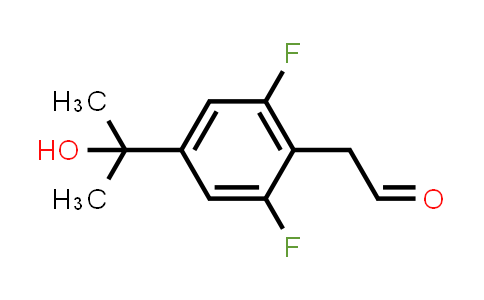1093878-15-9 | [2,6-DIFLUORO-4-(1-HYDROXY-1-METHYL-ETHYL)-PHENYL]-ACETALDEHYDE