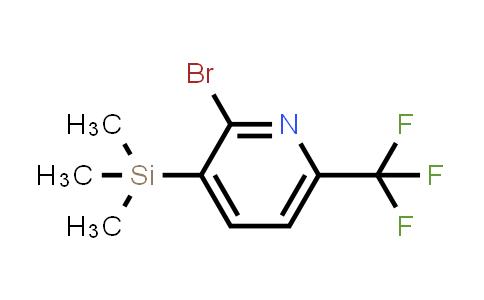 749875-12-5 | 2-BROMO-6-TRIFLUOROMETHYL-3-TRIMETHYLSILANYL-PYRIDINE