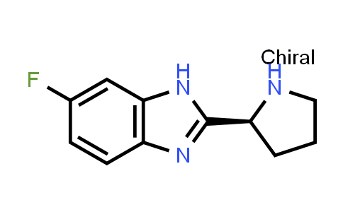 944030-63-1 | (S)-6-FLUORO-2-PYRROLIDIN-2-YL-1H-BENZOIMIDAZOLE